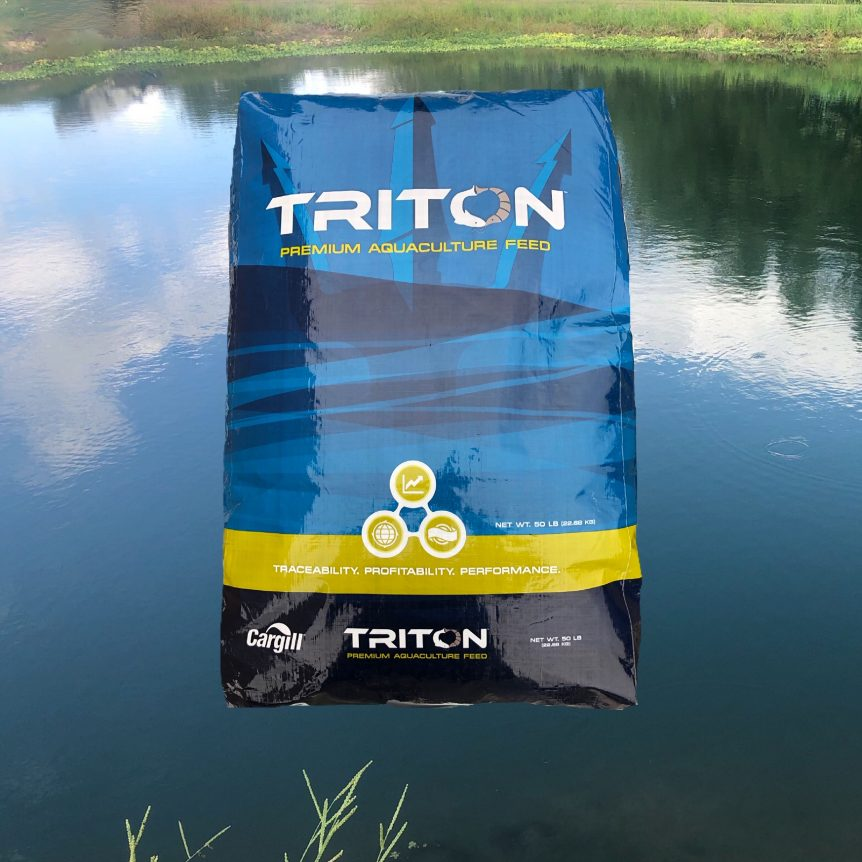 Triton Performance Feed (For carnivorous pond fish)